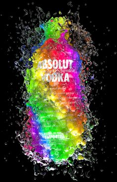 Absolut colors by Txaber, via Behance