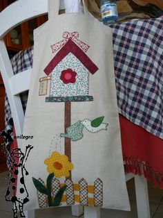 Imagen relacionada Annie Downs, Country Quilts, Applique Templates, Wool Felt, Pot Holders, Apron, Home Goods, Christmas Crafts, Diy Crafts