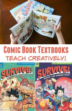 Comic Book Textbooks