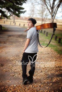 Senior Photography - the guitar... i like the beanie too haha