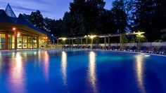 Danubius Health Spa Resort Hévíz****Superior-outdoor pool; at nighttime with light therapy and underwater music!