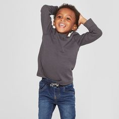 33bfea85f45 Toddler Boys' Pull-On Straight Jeans - Cat & Jack Medium Blue 12 M, Boy's,  Size: 12M