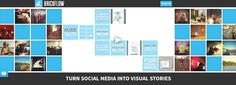 Curated Visual #Storytelling with Brickflow | #content #curation