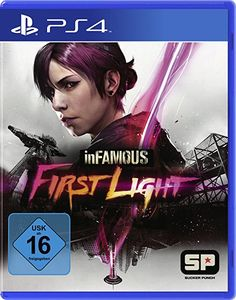 inFAMOUS First Light - playstation spiele playstation geschenk play station 4 geschenkideen playstation 4 spiele playstation zocken play station console xbox spiele PC