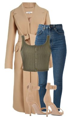 A fashion look from November 2015 featuring crop tops, high waisted jeans and Gianvito Rossi. Browse and shop related looks. Girly Outfits, Classy Outfits, Sexy Outfits, Stylish Outfits, Fall Outfits, Fashion Outfits, Womens Fashion, 80s Fashion, French Fashion