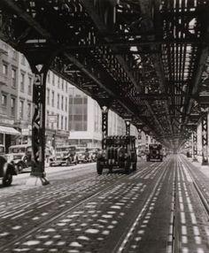 "ROGER SCHALL :    EL, ""New York"", 1935."