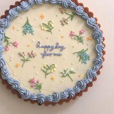 Pretty Birthday Cakes, Pretty Cakes, Beautiful Cakes, Cake Birthday, Birthday Cake Decorating, Amazing Cakes, Kreative Desserts, Cute Desserts, Baking Desserts