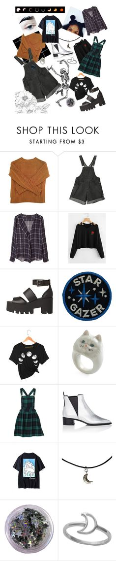 """🖤"" by phonetheskeleton ❤ liked on Polyvore featuring Le Mont St. Michel, Zara, Windsor Smith, Acne Studios, WithChic and Midsummer Star"