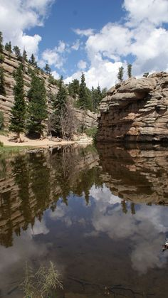 Gem Lake, Estes Park.  One of my favorite hikes in the area. It's northeast of town but in RMNP. You also avoid the park entrance fee. For the ambitious, try the 9 mile loop around Lumpy Ridge & finish with a dip here.  RM.