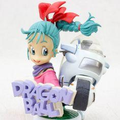 RARE! Dragon Ball Z Amazing Arts Bust Figure Bulma Motorcycle Bandai JAPAN ANIME
