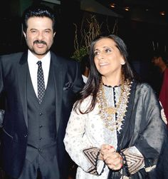 Anil Kapoor, who has been married to Sunita for over three decades, says he always wanted to give his wife all the luxuries and thats why he took time to marry her. - Anil Kapoor talks about why he took a long time to propose marriage to Sunita Bollywood Couples, Bollywood Stars, Abaya Fashion, Diva Fashion, Indian Celebrities, Bollywood Celebrities, Celebrity Couples, Celebrity Weddings, Bollywood Pictures