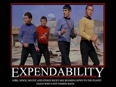 Don't be Ensign Ricky.