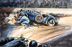 LE MANS 1932 - SALMSON GS  #28