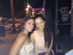 I enjoy the precious moments with my sister...especially when they are spent in the warm weather of Hollywood!