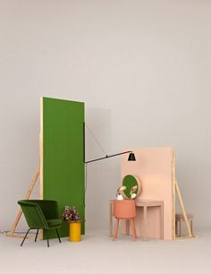 A pleasantly-hued still life collaboration with stylist Irina Graewe for Better Living.
