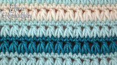 Learn A New Crochet Stitch: Triads Crochet Stitch
