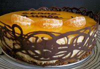 Gateau speculoos mangue mandarine, plutot light et superbe