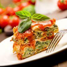 Ma recette du jour : Lasagnes aux épinards et ricotta sur Recettes.net