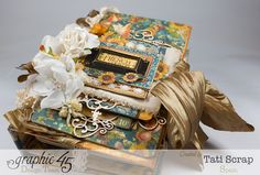 Tati, Recipe Album, French Country, Product by Graphic 45.