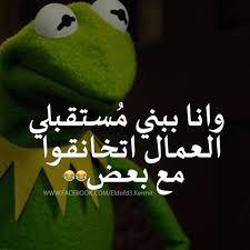 هههههههه مفيش امل Arabic Memes, Arabic Funny, Funny Arabic Quotes, Beautiful Arabic Words, Pretty Words, Cool Words, Funny Cartoon Quotes, Jokes Quotes, Kermit