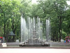 Stefan cel Mare park — Chisinau, Republic of Moldova Real Life Games, The Second City, Weather Underground, Garden Fountains, Moldova, Eastern Europe, Capital City, Ukraine, Places To Travel