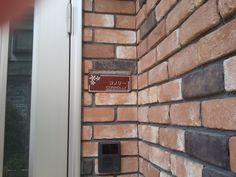 Brass Front Door Name Plates