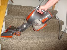 My Favorite Lightweight Vacuum {Shark Rocket Review}