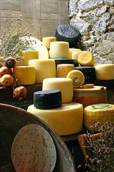 Greek cheese store