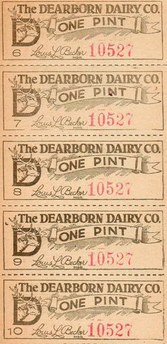 The Vintage Moth..: Vintage Dairy Coupon and an Etsy Shop Shout Out