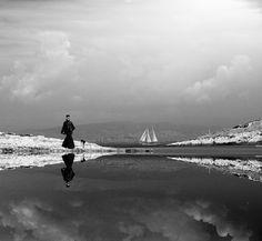 Photographer SPYROS MZ  Lady In Black  ONE EYELAND