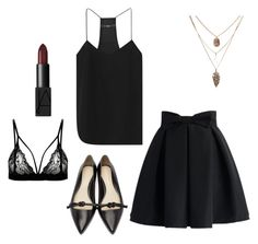 """""""Black"""" by zanc-andra on Polyvore featuring 3.1 Phillip Lim, Chicwish, NARS Cosmetics and TIBI 3.1 Phillip Lim, Nars Cosmetics, Polyvore, Stuff To Buy, Shopping, Collection, Black, Design, Women"""
