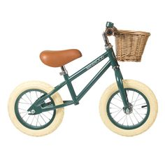 Banwood Bike Banwood FIRST GO! Hunter Green Balance Bike – Rose & Rex
