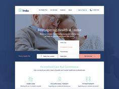 Indu Website by Jon McClure #Design Popular #Dribbble #shots