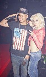 DJ Mirjami with MC in HIVE CLUB