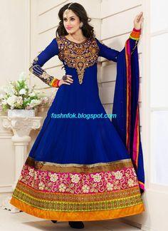 Anarkali-Umbrella-Wedding-Brides-Fancy-Party-Wear-Frocks-2013-Latest-Fashionable-Clothes-3