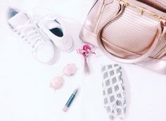 outfit of the day ootd look do dia candy color pink mood  girls
