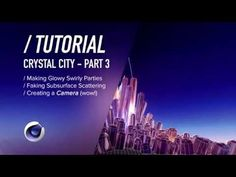 ( / ) C4D TUTORIAL - Particles + Faking SSS - Crystal City PT3 - YouTube