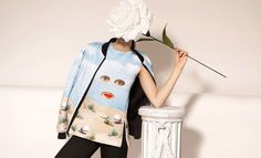 Bizarre Surreal Art Apparel  - Opening Ceremony's New Collection Offers Surreal Couture (GALLERY)