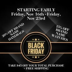 COUNTDOWN TO BLACK FRIDAY WITH A FEW EARLY BLACK FRIDAY SAVINGS Turn Your  Notifications On 👆 To Keep Up With Daily Deals Click The Link In The Bio ☝  or ... a46f41db812f6