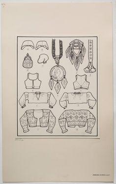 Swedish Fashion, Folk Fashion, Folk Costume, Costumes, Knitting Accessories, Historical Costume, Pattern Making, Folklore, Antique Jewelry