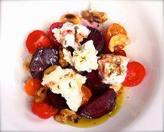 Blond Kitchen: Punajuuri-vuohenjuustosalaatti