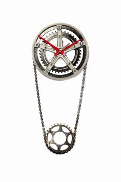 The reCYCLEr, Suites at Market Square, G-3040. Chain Ring = Clock #designonhpmkt http://www.therecycler.ca/