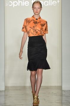 Sophie Theallet Spring 2014 Ready-to-Wear - Collection - Gallery - Style.com
