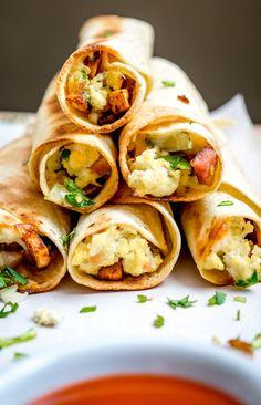Mexican Breakfast Taquitos mexicanplease.com
