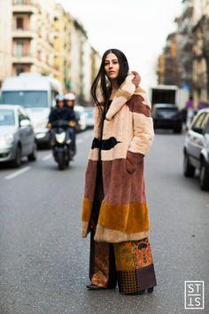 Gilda Ambrosio during Milan Fashion Week A/W 16/17