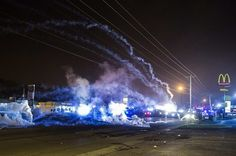 What It Was Like In The Streets On Ferguson's Worst Night
