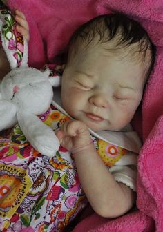 Alla s Babies Reborn Baby Girl Doll Prototype Lillesol,Sabine Altenkirch, IIORA