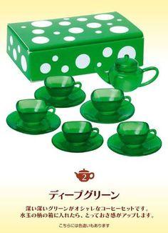 Megahouse dollhouse miniature lady bug kettle tea set 2 2008
