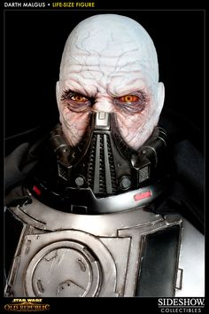 Win a life-sized statue, valued at six grand, of Darth... Malgus. Um, what?
