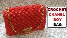 How to crochet Chanel boy bag